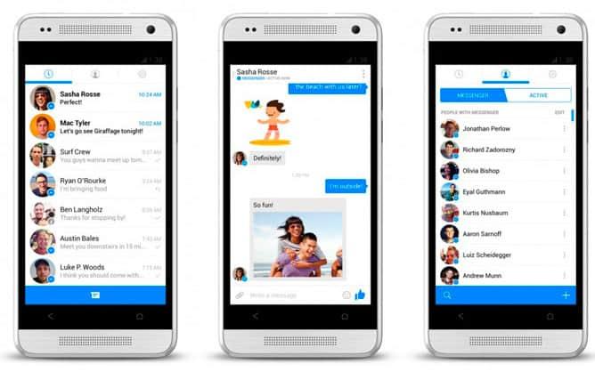 Facebook Messenger скачать бесплатно Фейсбук мессенджер